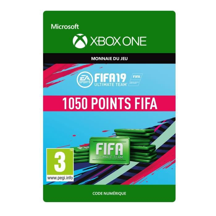 DLC FIFA 19 Ultimate Team :1050 pts pour Xbox One