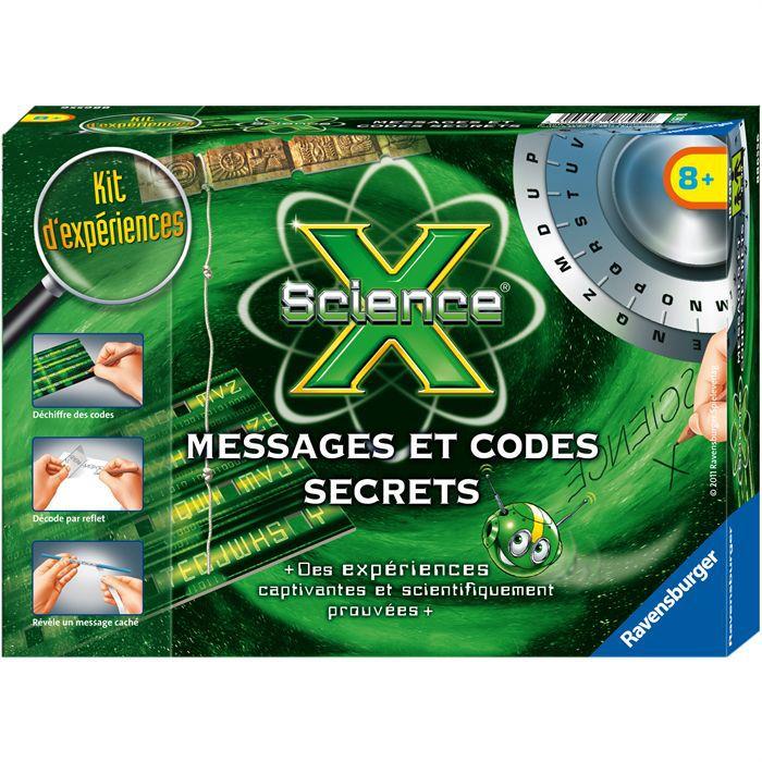 Mini Science X Messages Et Codes Secrets