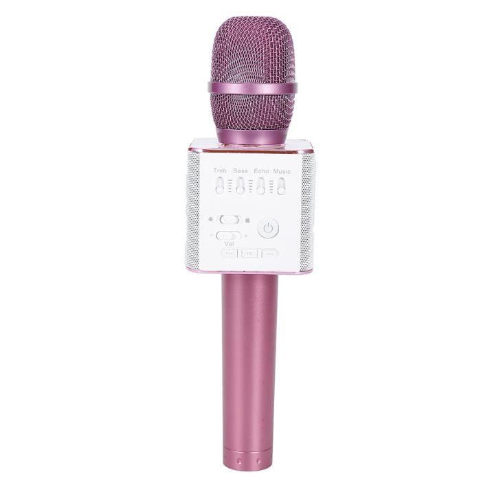 Rose Q9 Artéfact Portable Sans Fil Microphone Bluetooth Haut-parleur Ktv Extérieur