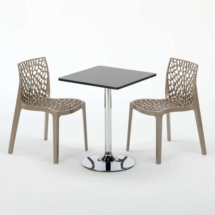 Café Juta Colorées Set Mojito Modèle Bar Table Et Beige Chaises Interieur Noir Couleur 2 De gruvyer La Polypropylene lFJcT1K3u