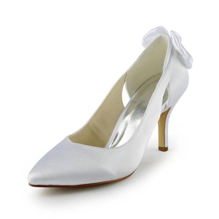 Jia Jia Wedding 8390B6 chaussures de mariée mariage Escarpins pour femme