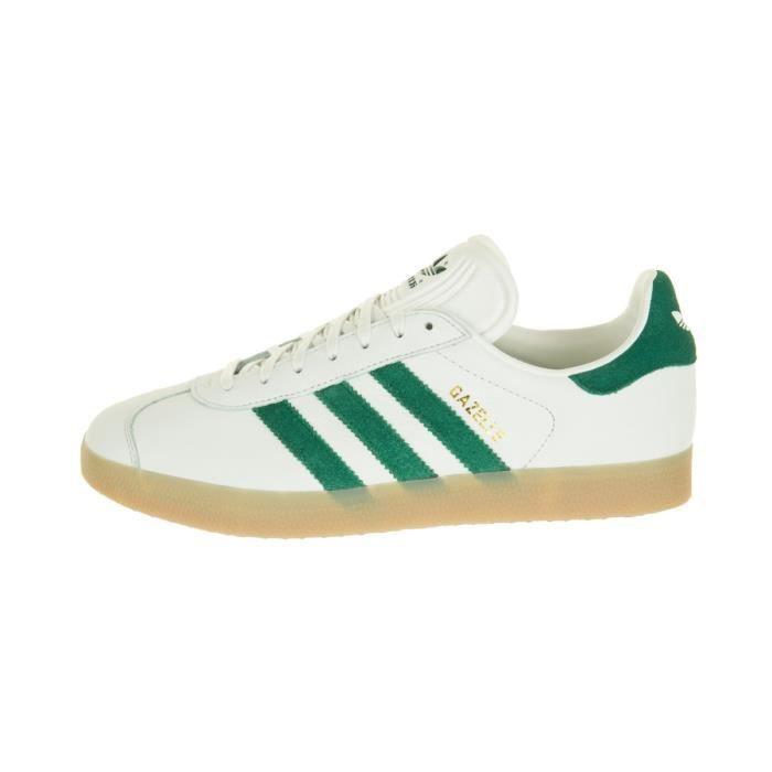 gazelle adidas blanche cuir