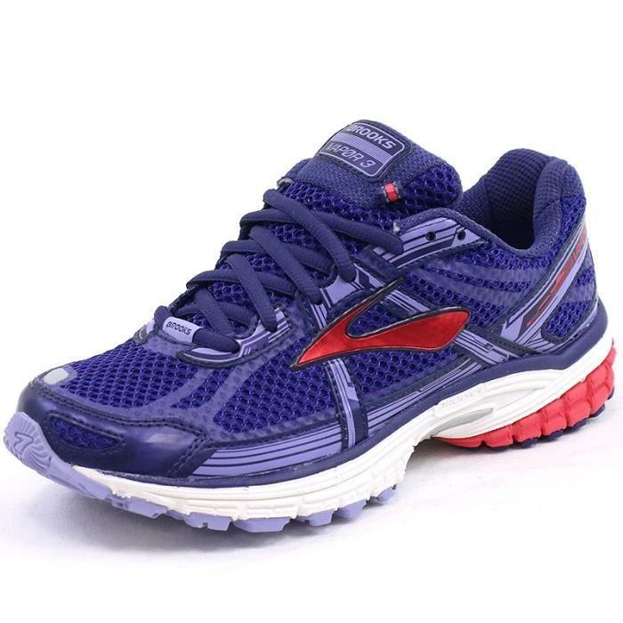 6e4a0a11191 Chaussures Vapor 3 Bleu Running Femme Brooks - Prix pas cher - Cdiscount