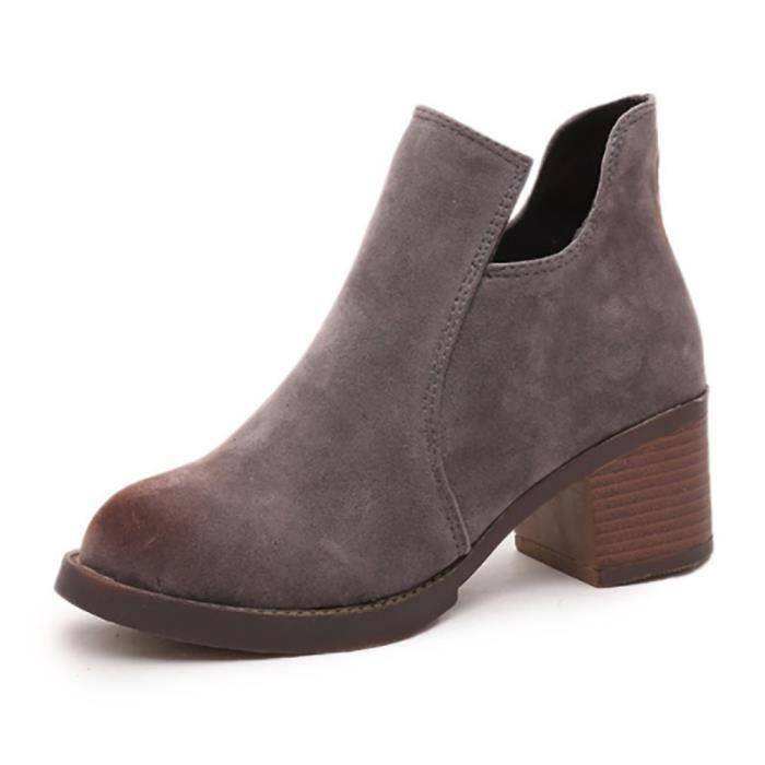 Chaussures bottine femme - style design