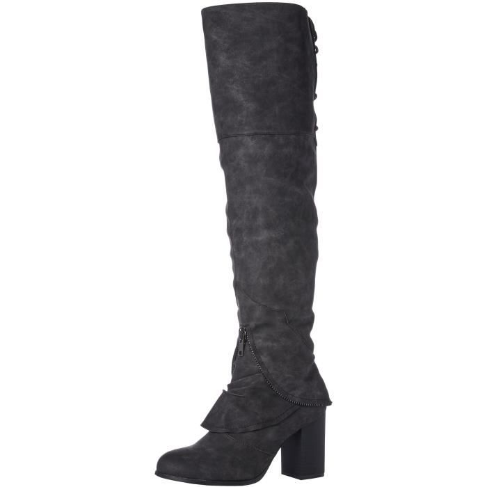 Too Liam Over The Knee Boot NVHXK Taille-41