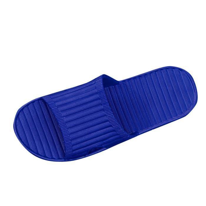 Flip Homme D'été Hommes Chaussures Sandales Pantoufle Tongs Bleu Antidérapage oCerdBWx