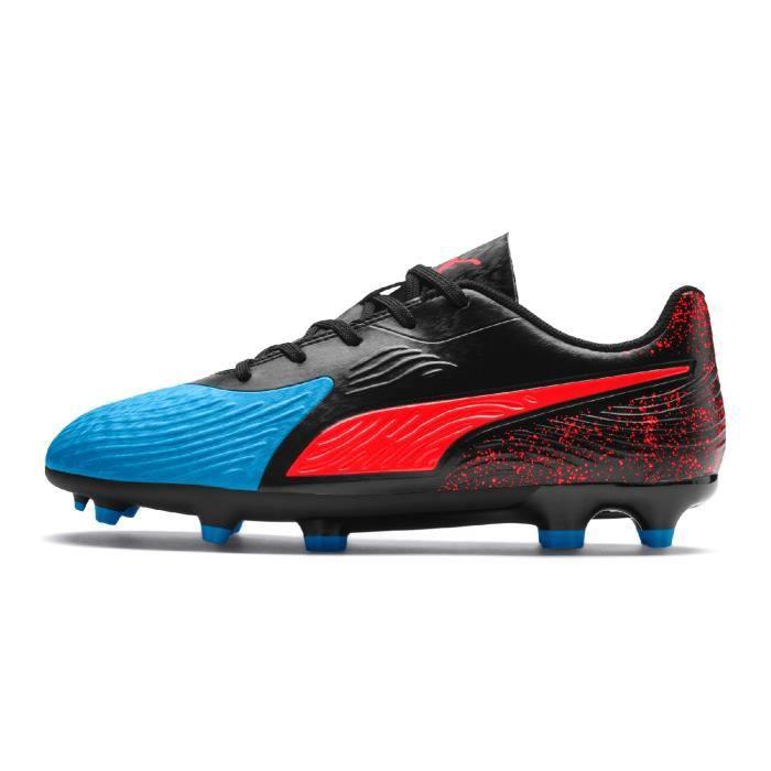One Puma 19 Bleu 4 Junior Football Noir Chaussures Fg Ag RjL53c4Aq