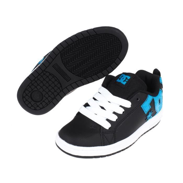 Chaussures skateboard Court graffik se black jr