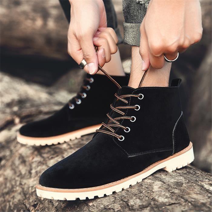 Bottine Homme Durable Chaussure Extravagant Confortable Bottines Classique Plus De Couleur Léger Grande Taille 39-44
