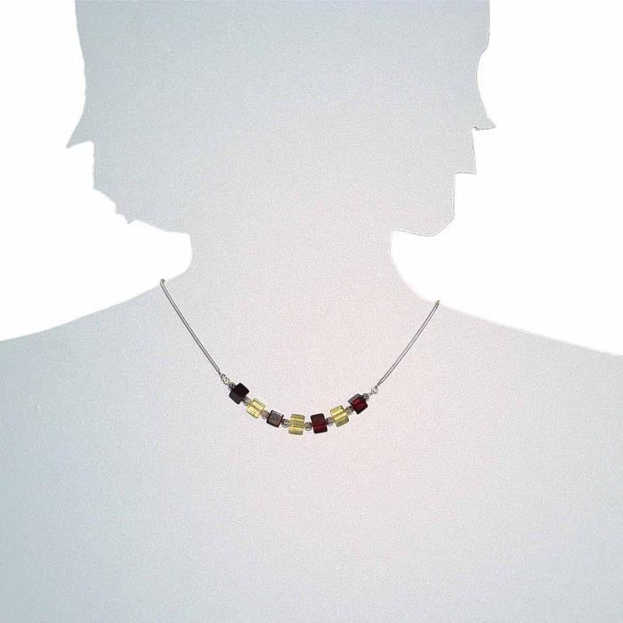 0541293055100 - Collier Femme - Argent 925-1000 - Ambre Z8P0R