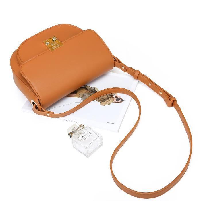 Crossbody selle Sac à bandoulière avec rabat et téléphone Pocket M5AKB