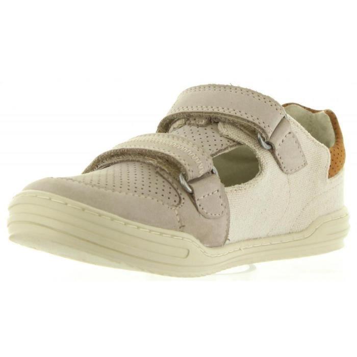 Chaussures pour Garçon KICKERS 545540-30 JYROLLE 11 BEIGE