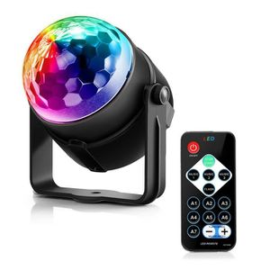 BOULE A FACETTES MGY-17 LED BOULE A FACETTES RGB Party Effet Discot
