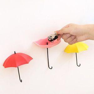 PORTE-PARAPLUIE 3pcs - set mur parapluie mignon montage Porte-clés
