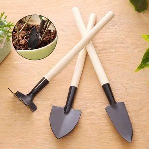 mini outils de jardinage pour enfant bonsai poign e en. Black Bedroom Furniture Sets. Home Design Ideas