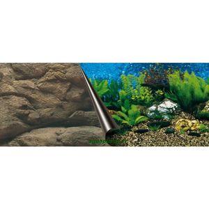 DÉCO ARTIFICIELLE EBI Poster fond d'aquarium - 120 x 50 cm - Imprimé