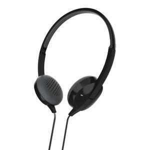 CASQUE - ÉCOUTEURS Micro-casque stéréo supra-aural Advance, noir