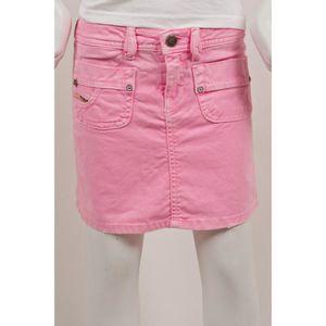 2eb8e8e14bdb99 DIESEL Jupes fille mini jupe jea... Rose - Achat / Vente jupe ...