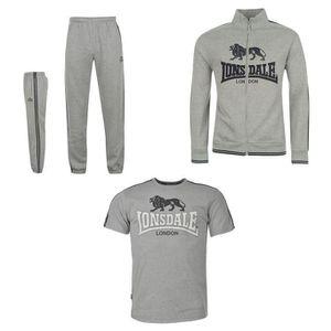 SURVÊTEMENT Jogging Lonsdale Homme gris 2015