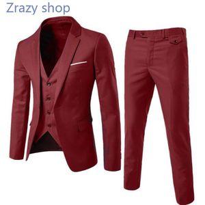 3f1134cd5d63 COSTUME - TAILLEUR (Veste+Pantalon)Costume Homme Marque Luxe Veston d