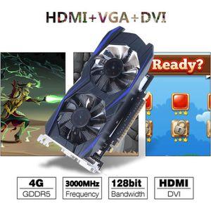 CARTE GRAPHIQUE INTERNE Carte graphique HD GTX1050TI GDDR5 4GB 128Bit 3000
