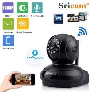CAMÉRA IP Caméra IP Sricam 1080P Sans Fil HD 2.0MP WLAN H.26