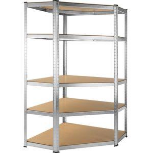 etagere rangement achat vente etagere rangement pas cher cdiscount. Black Bedroom Furniture Sets. Home Design Ideas