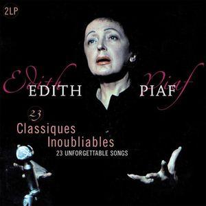 VINYLE POP ROCK - INDÉ EDITH PIAF 23 Classiques Inoubliables - 33 Tours -