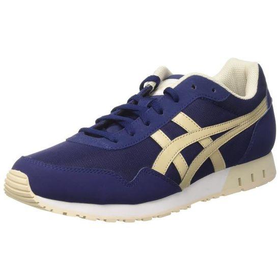 Asics Curreo Chaussures de sport pour hommes 1IWQ4L Taille-38 Bleu Bleu - Achat / Vente basket