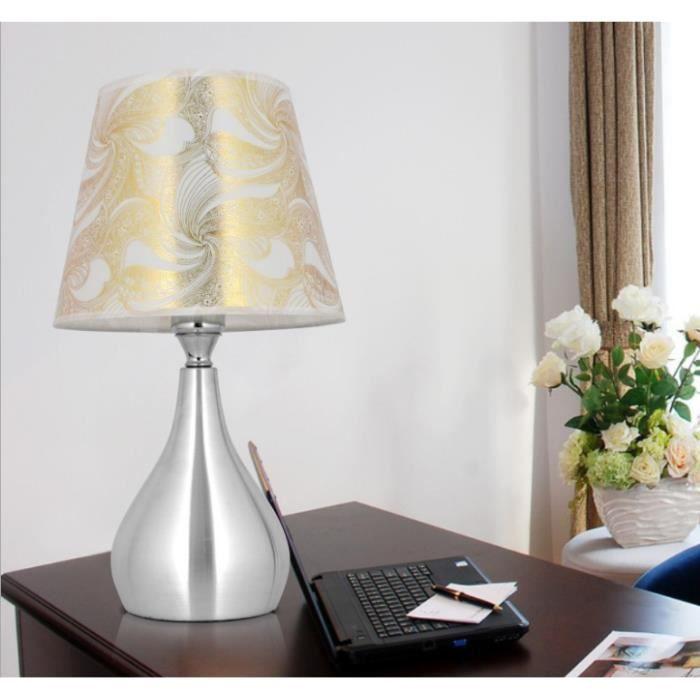 Luxe Classique Americain Chambre Table Lumiere Lampe De Chevet