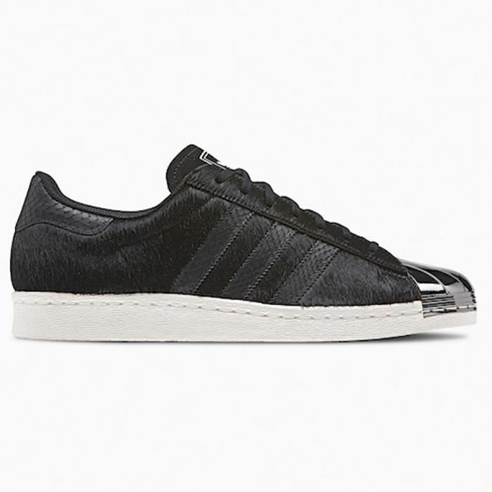 fresh styles official site low price sale Adidas Superstar 80s Metal Toe Black Bl - Achat / Vente ...