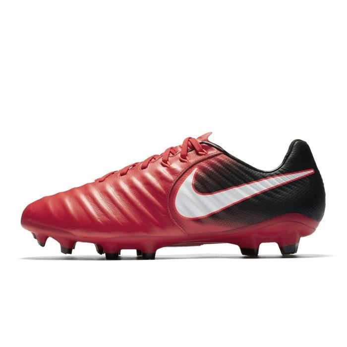 new styles 046ac 7ca1c Chaussures football Nike Tiempo Legacy III FG Rouge-Noir