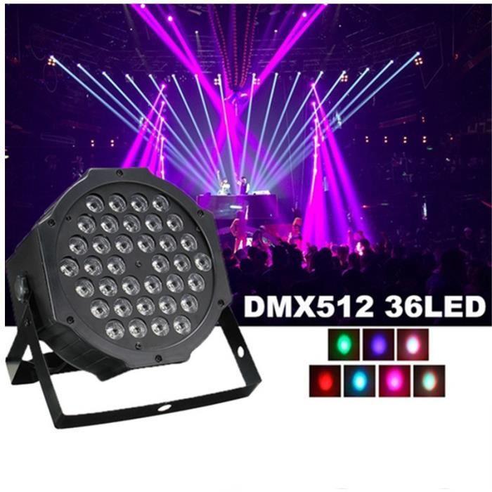 LAMPE ET SPOT DE SCÈNE NEUFU DMX512 36LED Jeu de lumière dj Stage Disco P