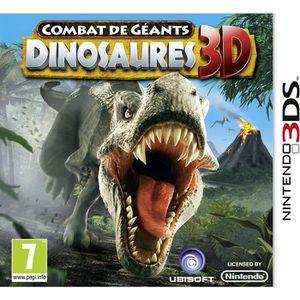 JEU 3DS COMBATS DE GEANTS: DINOSAURES 3D / Jeu console 3DS
