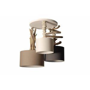 suspension bois flotte achat vente suspension bois flotte pas cher cdiscount. Black Bedroom Furniture Sets. Home Design Ideas