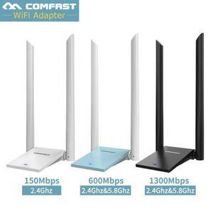 CARTE RÉSEAU  2.4g 5 Ghz Usb Wi-Fi Adaptateurs 150mbps-1300mbps