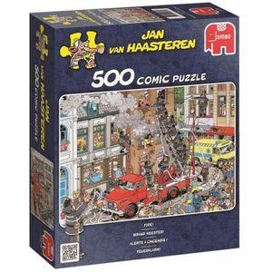 PUZZLE Puzzle 500 Pièces - ALERTE À L'INCENDIE - Jan van