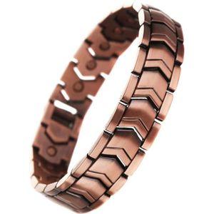 BRACELET - GOURMETTE Bracelet Cuivre 21 Aimant 3000g magnetique bio ele