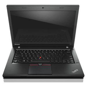 ORDINATEUR PORTABLE Pc portable Lenovo L450 - i5 -8Go -SSD 120Go - W10