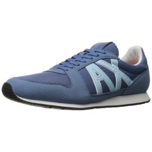 x Armani Exchange Courir Retro Sneaker Sneaker Fashion IDNLX Taille-43 YJE1lI2CK