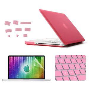 9a79460b7f HOUSSE PC PORTABLE Housse Étui pour MacBook Pro 15.4 pouces rose 4 en