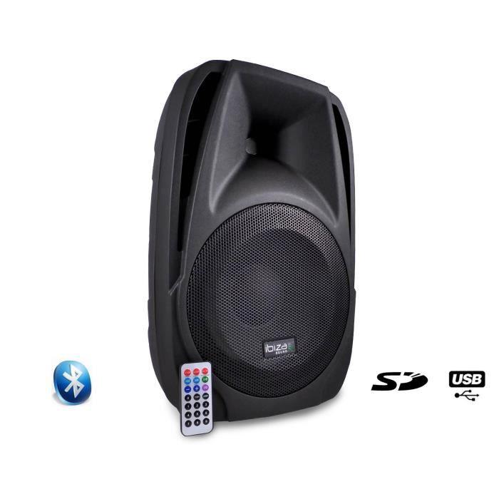 IBIZA SOUND BT10A Enceinte active portable - 250W