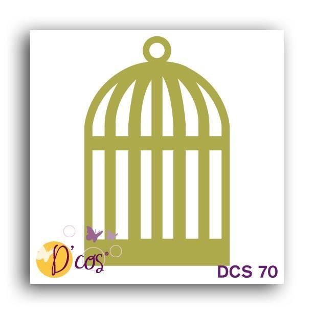 LES D'COS® DE TOGA Die Cage - Doré