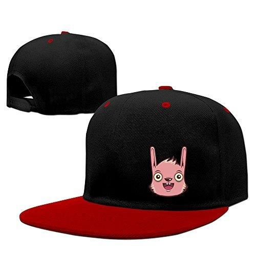 Casquette Snapback Ouverte Rabbit Mouth Rabbit Red Rouge Achat