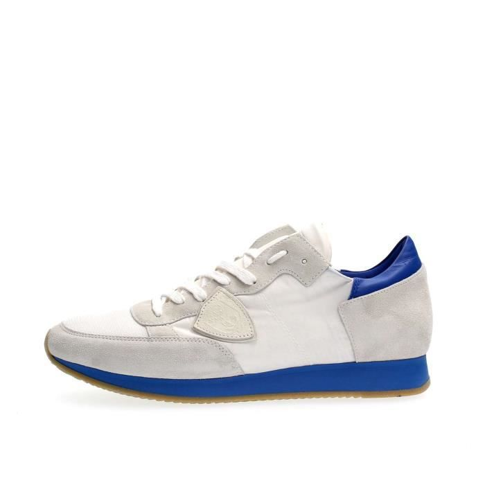 PHILIPPE MODEL PARIS SNEAKERS Homme WHITE, 44