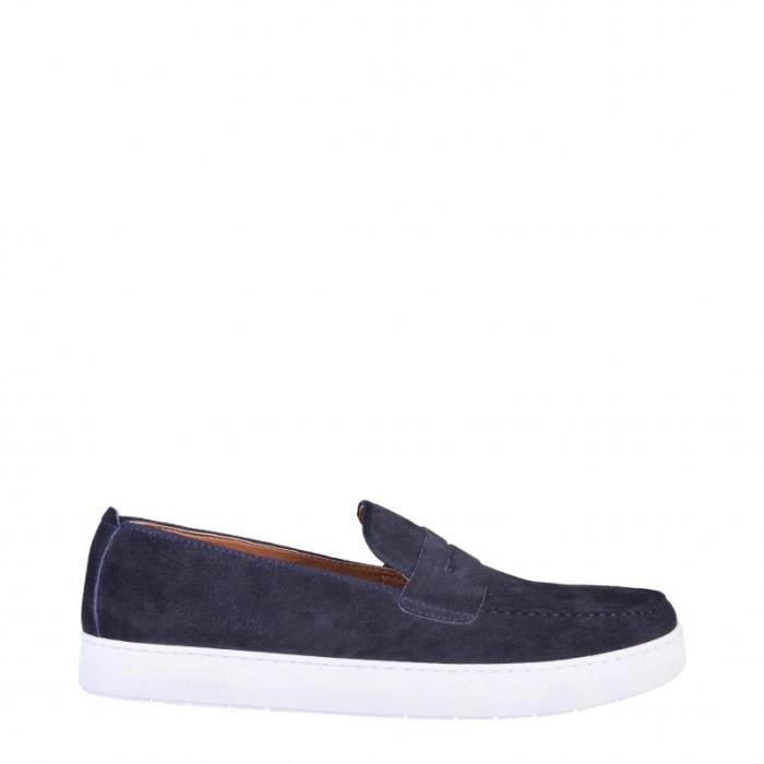 MOCASSIN Pierre Cardin Bleu Chaussures Mocassins Nouveau
