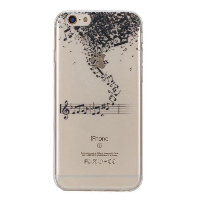 coque iphone 6 music
