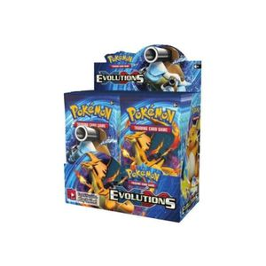 CARTE A COLLECTIONNER Display de 36 boosters Pokémon XY 12 Evolutions Ve