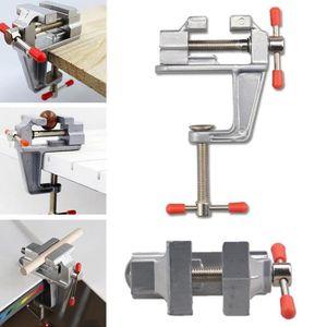 ETAU - SERRE-JOINT  Mini Aluminum Tableau Étau Outil Pince Table Pour