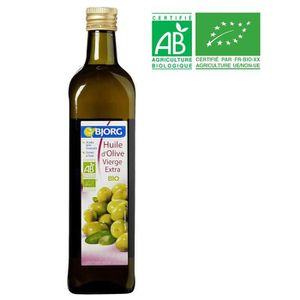 HUILE BJORG Huile d'Olive vierge extra Bio - 75 cl